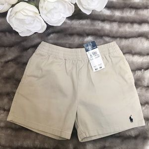 Polo by Ralph Lauren Pull on Khaki Shorts NWT